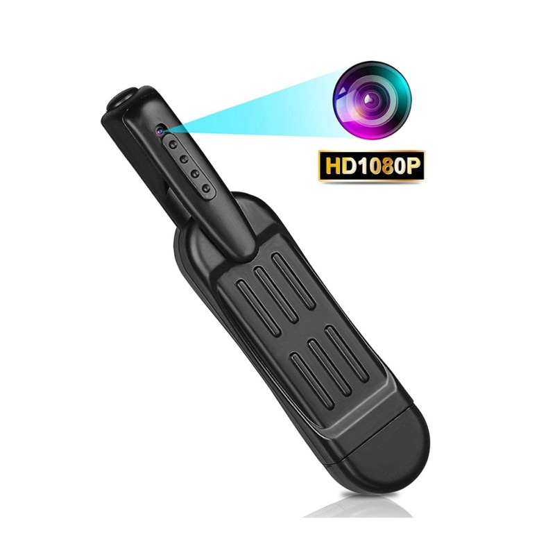 Mini cámara T189 bolígrafo Full HD 1080P, cámara corporal portátil, cámara Mini Digital DVR, videocámara pequeña DV, cámara espia