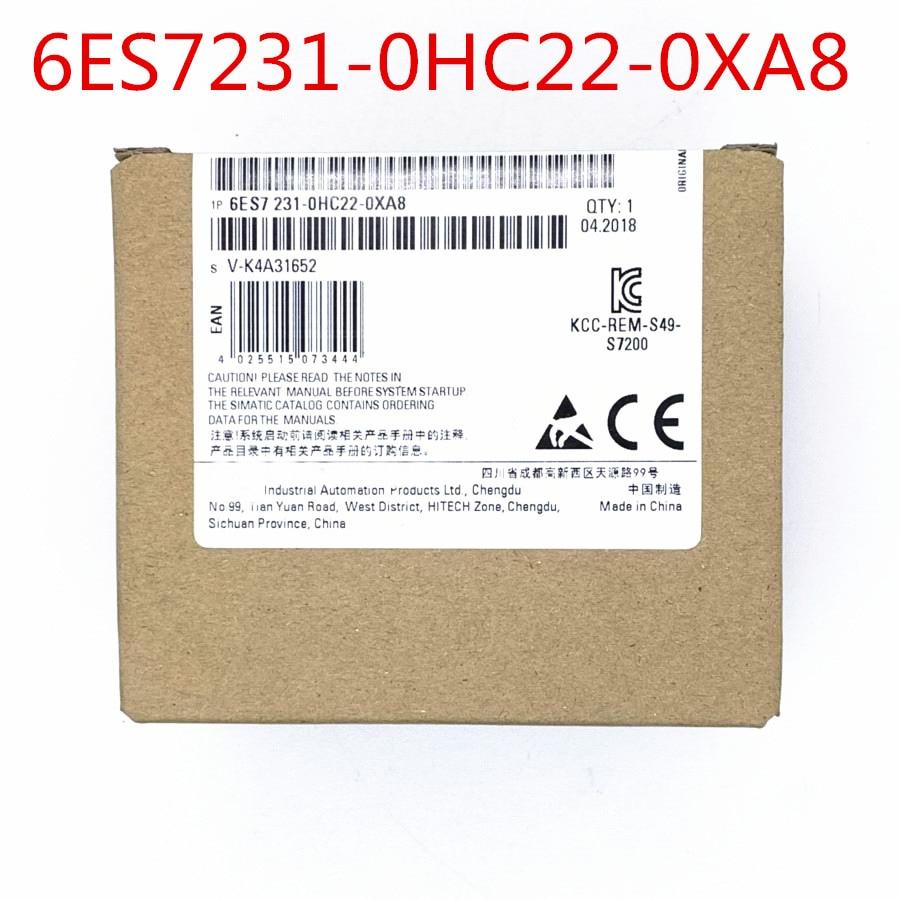 100%  Originla New  2 years warranty    1P  6ES7231-0HC22-0XA8   EM231