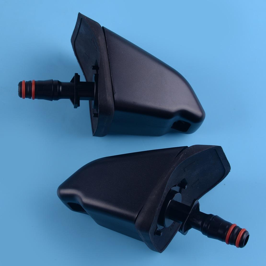 Beler 1 Par de faros boquilla de arandela rociador de faro 76885-SCA-S01 76880-SCA-S01 ajuste para HONDA CRV CR-V II 2 MK2 2001-2005