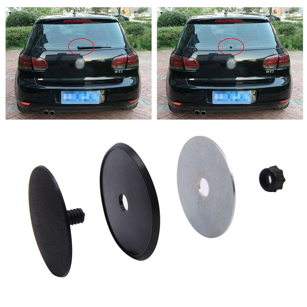 Auto Car Rear Wiper Delete Kit Car Waterproof Block Off Plug Cap 30mm 32mm 46mm