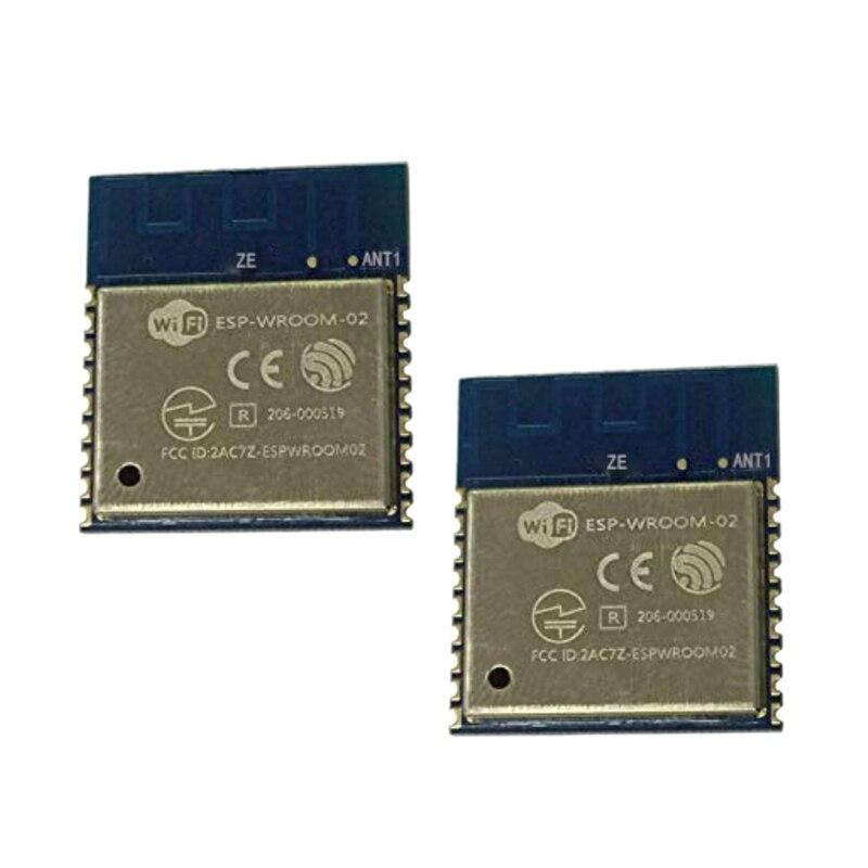 Esp-Wroom-02 esp8266 remoto porta serial wifi módulo sem fio transceptor 32mbit