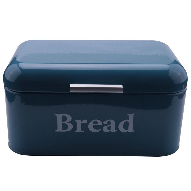 خمر الخبز مربع دولاب الحديد اقفاص الوجبات الخفيفة سطح المكتب التشطيب الغبار واقية صندوق تخزين صندوق تخزين حارس الغذاء رف مطبخ ديكور S