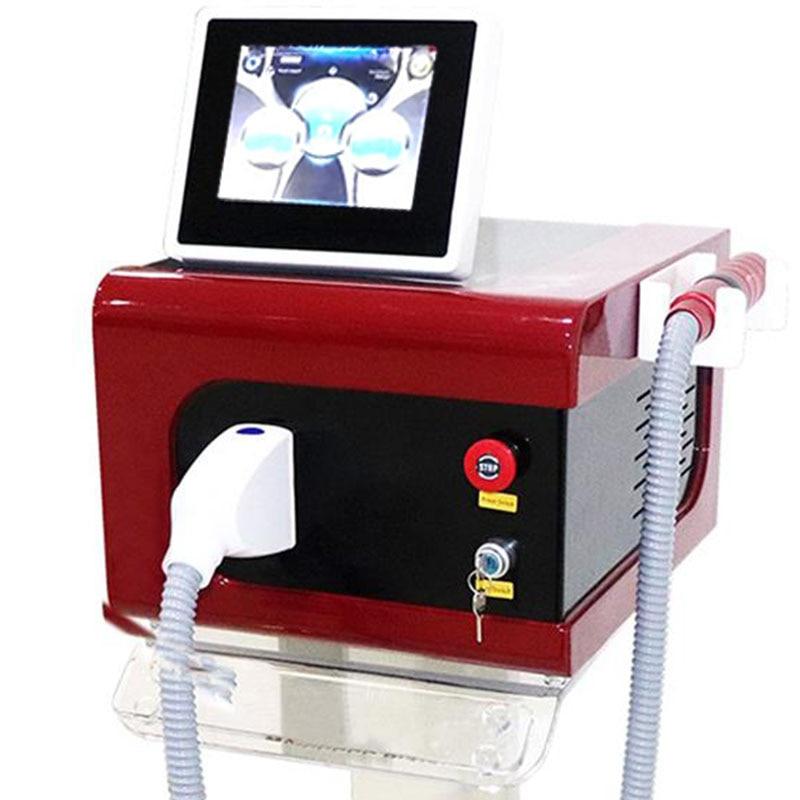 2021 أحدث المهنية Q التبديل NDYag الليزر ماكينة إزالة الوشم بيكو ثانية ليزر لإزالة الوشم ND:Yag الليزر لصالون