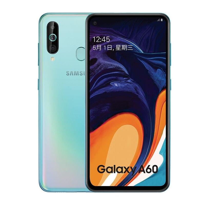 New Original Samsung Galaxy A60 6.0'' Smartphone 6G RAM 128G ROM Triple Camera 32MP 3500mAh Battery 4G LTE Android Mobile Phone