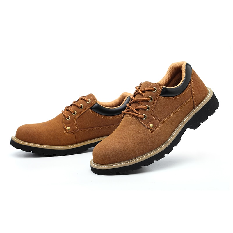 Fashion Shoe Men's Boots Plus Size 36-46 New Martens Casual Leather Doc Martins Boots Mens Military