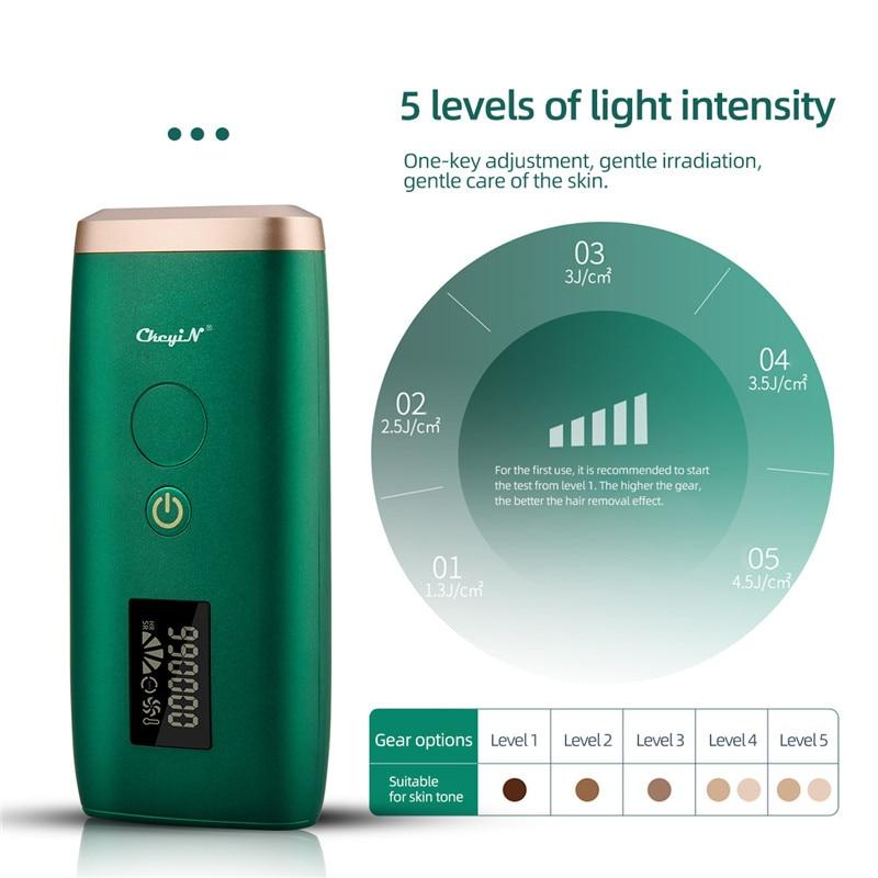 Professional IPL Permanent Hair Removal Epilator 999000 Flashes Laser LCD Display Machine Bikini Body Face Shaver depilador 45