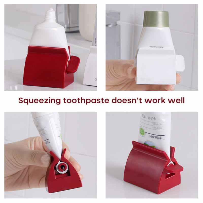 Зубная паста дозатор тюбик соковыжималка зуб паста соковыжималка средство для лица очищающее средство пресс валик держатель ванная комната аксессуары для детей
