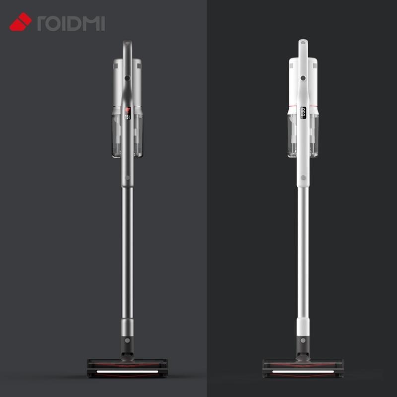 Elektrikli süpürge ROIDMI NEX X20 NEX 2 Pro X30 OLED ekran 26500Pa emme süpürme ve paspas fonksiyonu