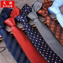 SHENNAIWEI  5cm gravatas para homens neckties for men tie  jacquard Striped corbatas