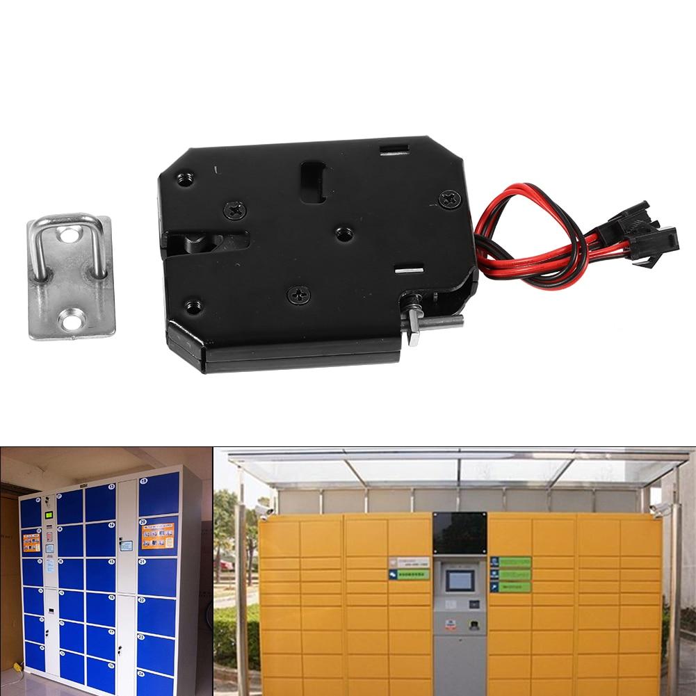 Cerradura electromagnético pequeño cc 12V 2A, cerradura inteligente eléctrica para supermercado, cerradura de acceso, cerradura eléctrica para buzón de correo