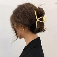 1 шт. заколки для волос коготь для женщин акриловые заколки для волос Краб когти для девочек макияж моющий инструмент Аксессуары Украшение
