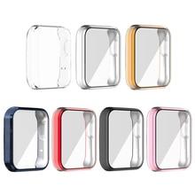 TPU Case for Xiaomi Mi Watch Lite Redmi Watch Cover Bumper Shell Frame TPU Screen Protector Smartwat