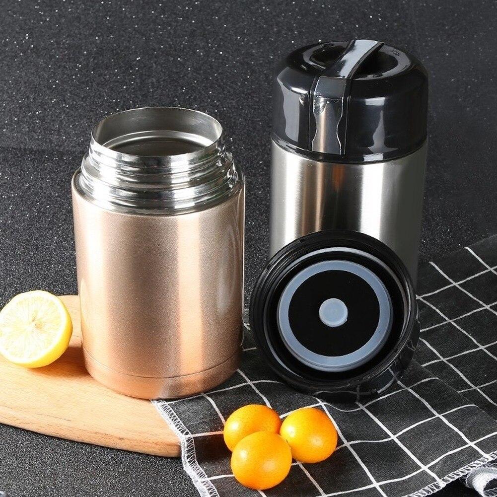 304 garrafa térmica de aço inoxidável lancheira para alimentos quentes com recipientes 800ml 1000ml garrafas térmicas de água quente