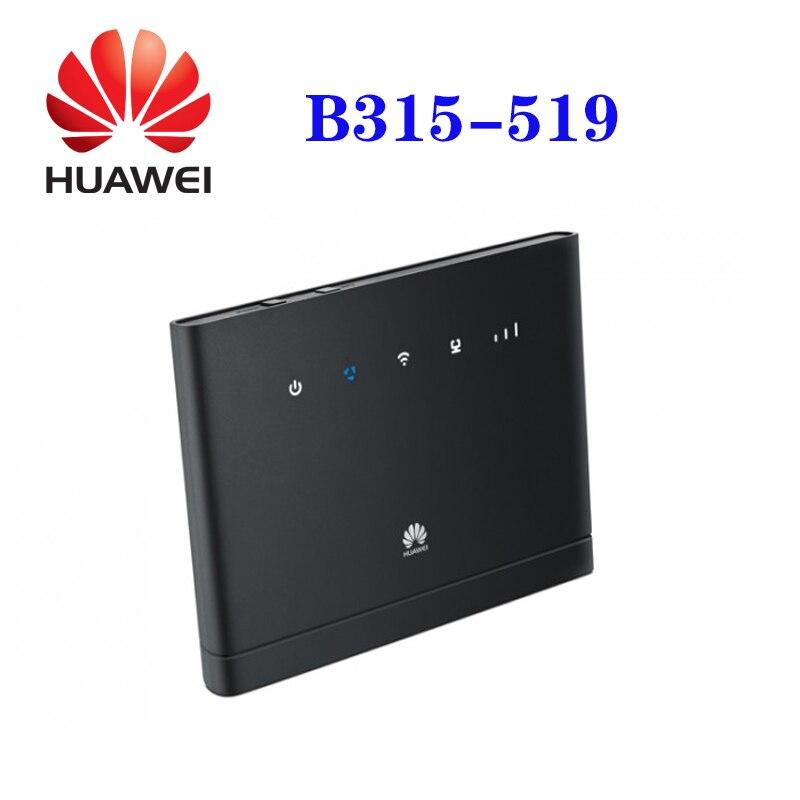 جهاز توجيه لاسلكي من هواوي B315s-519 150Mbps CAT4 4G LTE CPE جهاز توجيه لاسلكي الجيل الثالث 3G واي فاي برودباند متنقل b315s جهاز توجيه محمول الجيل الثالث 3g 4g