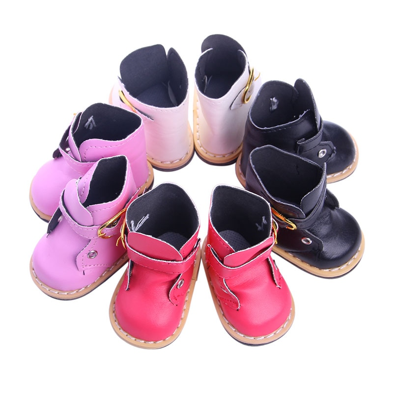 Mini zapatos de juguete de moda, botas grandes adecuadas para accesorios de muñeca estadounidense de 18 pulgadas, generación, regalo de cumpleaños para niña