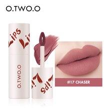 O.TWO.O Velvet Matte Lipstick Lightweight Liquid Lipstick Cosmetics Non Sticky Lip Glaze Waterproof