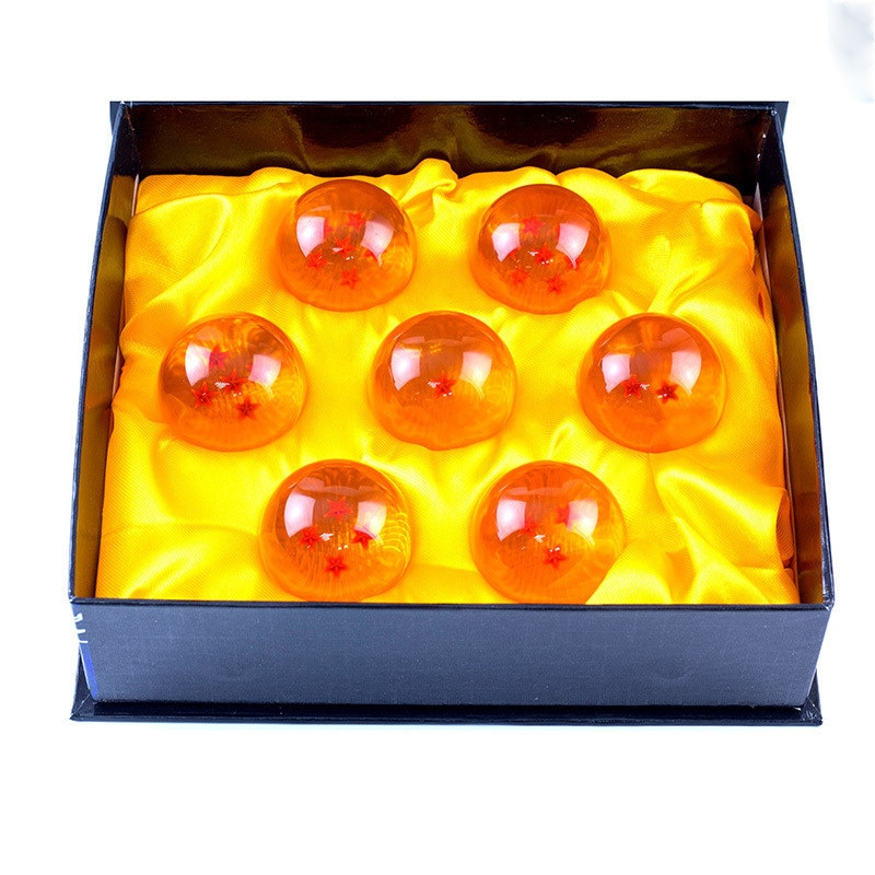 Bolas de dragón de Dragon Ball Z, 7 esferas de cristal de 7 estrellas de Dragon Ball empaquetadas, 2 tamaños seleccionables, 3,5 cm/4,2 cm, gran oferta, envío gratis