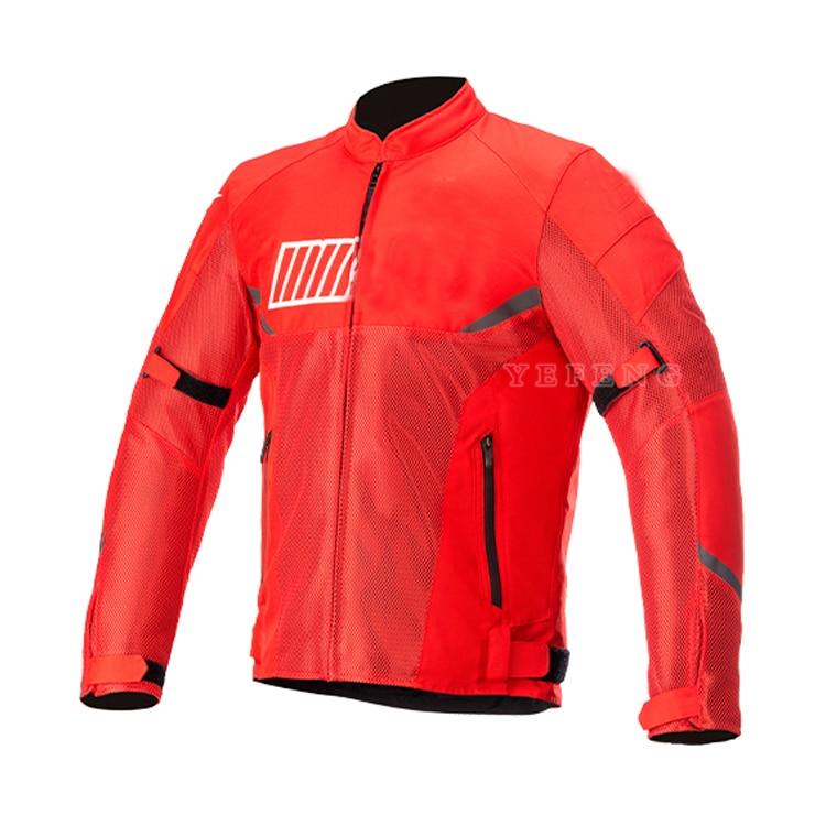 جبال الألب موتو 202193 جديد 3 ألوان دراجة نارية الصيف شبكة ركوب سترة تنفس سترة سباق مع حماة دون بطانة