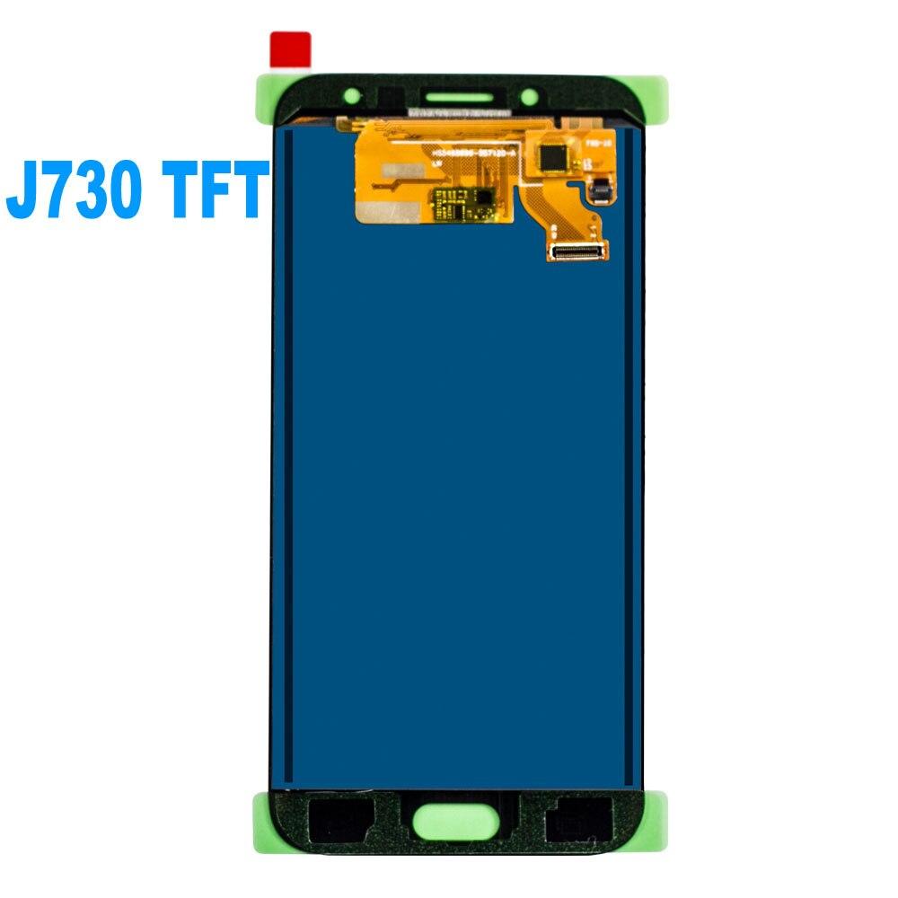 Original Super Amoled LCD For Samsung Galaxy J7 Pro 2017 J730 J730F LCD Display Touch Screen Digitizer AssemblyJ730 J730F LCD enlarge