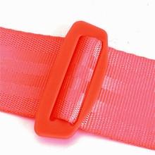 Seat Safety Belt Strap Buckle Polyester Adjustable 3-Point Automotive Car