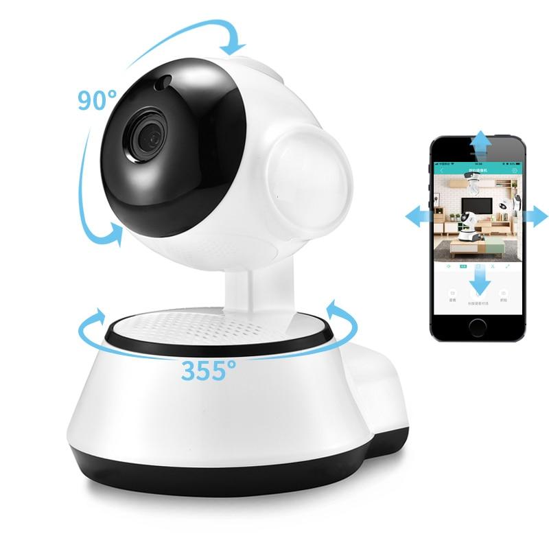 1080p беспроводная домашняя ip-камера безопасности p2p WiFi камера Wi-Fi аудио запись наблюдения детский монитор HD мини CCTV камера V380 PRO
