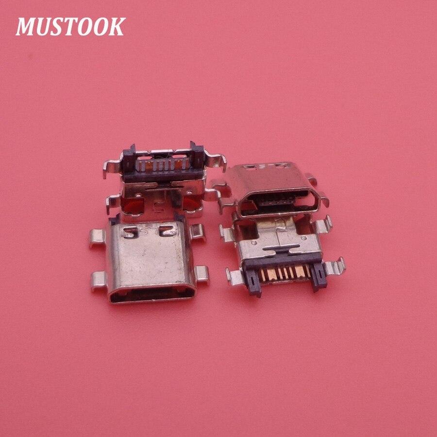 50 Uds. Conector de carga micro usb puerto de enchufe para Samsung G530 G7102 G7106 G350 i8262 S7582 S7580 G355