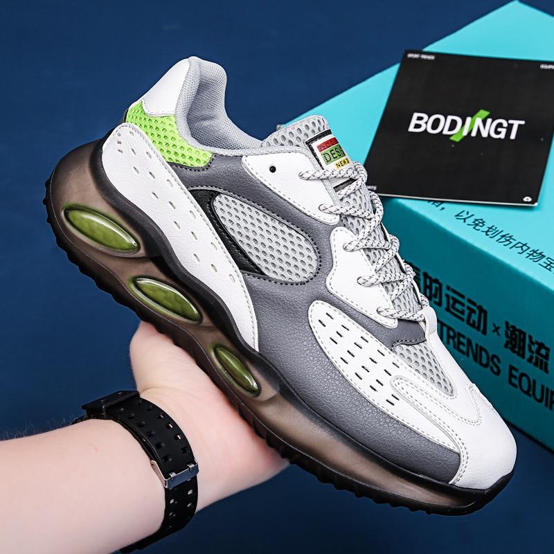 Супер крутые кроссовки для мальчиков, белая спортивная обувь, мужские дышащие уличные кроссовки для спортзала, роскошные фирменные рандовы...