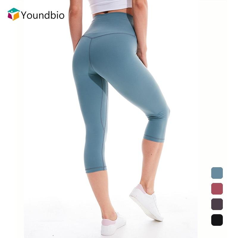 Mallas deportivas de cintura alta para Mujer, pantalones cortos de Yoga, Mallas...