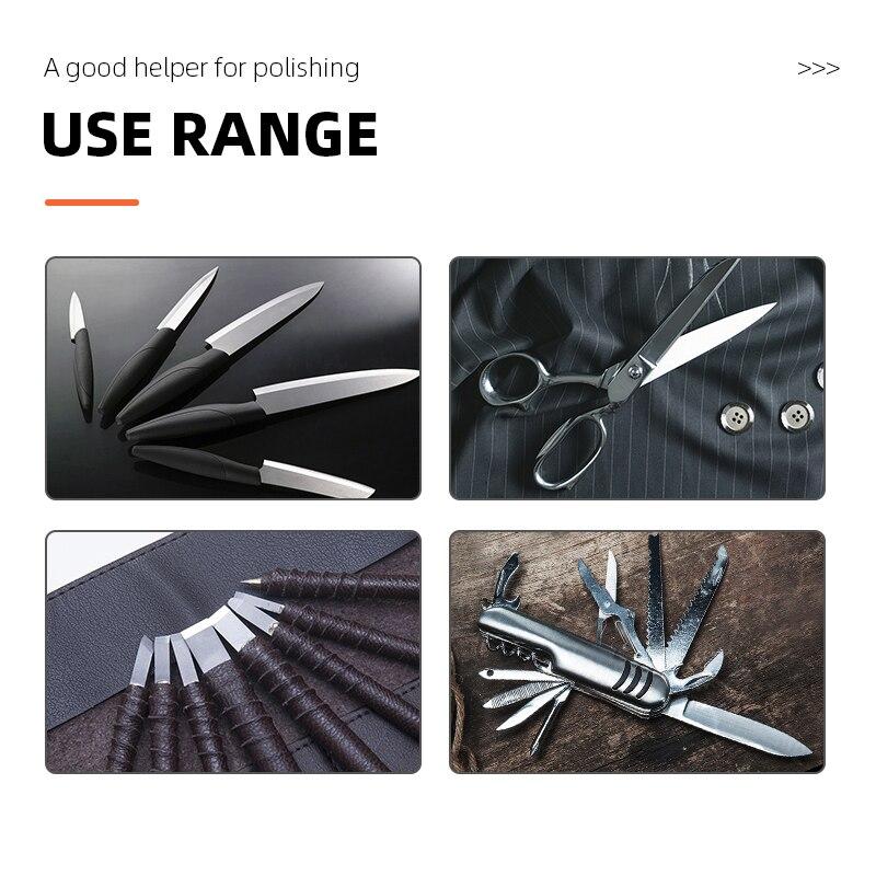 Electric Knife Sharpener 220v Hairdressing Scissors Manicure Knife Special Polishing Machine Electric Polisher Blade Sharpening enlarge