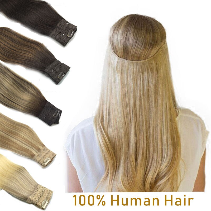 extensoes de cabelo de aureola reta invisivel peixe linha extensao do cabelo humano