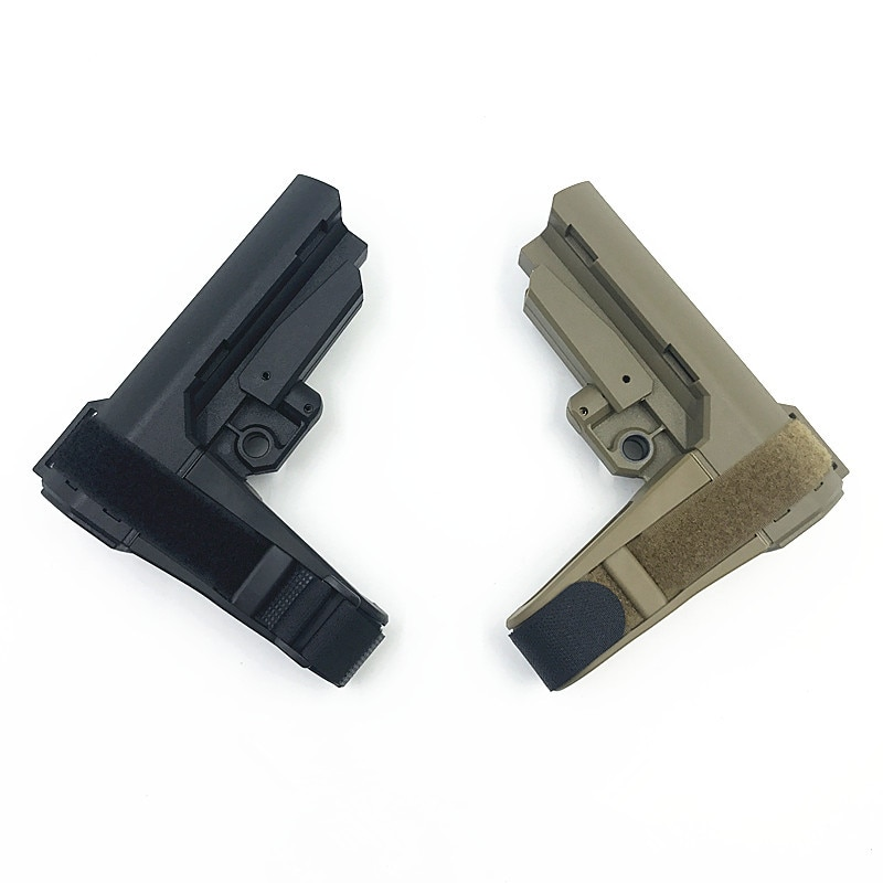 Outdoor Sports CS Game Equipment Tactical nylon Stock for Toy Gun updated accessories for M4 HK416 gel ball Toy gun Parts