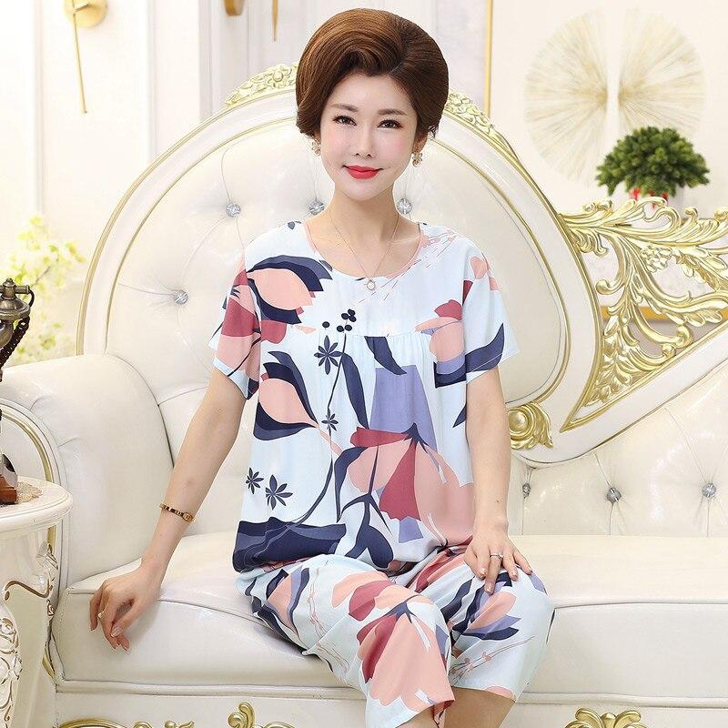 pijamas-de-popelina-para-mujer-ropa-de-casa-de-seda-fina-para-mediana-edad-y-ancianos-pantalon-corto-de-algodon-artificial-de-talla-grande-para-madre