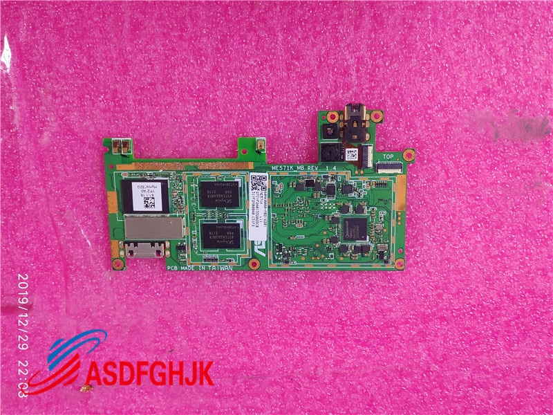 Logic board Motherboard For Asus Google Nexus 7 ME571K MB K009 WIFI version 16GB / 32GB