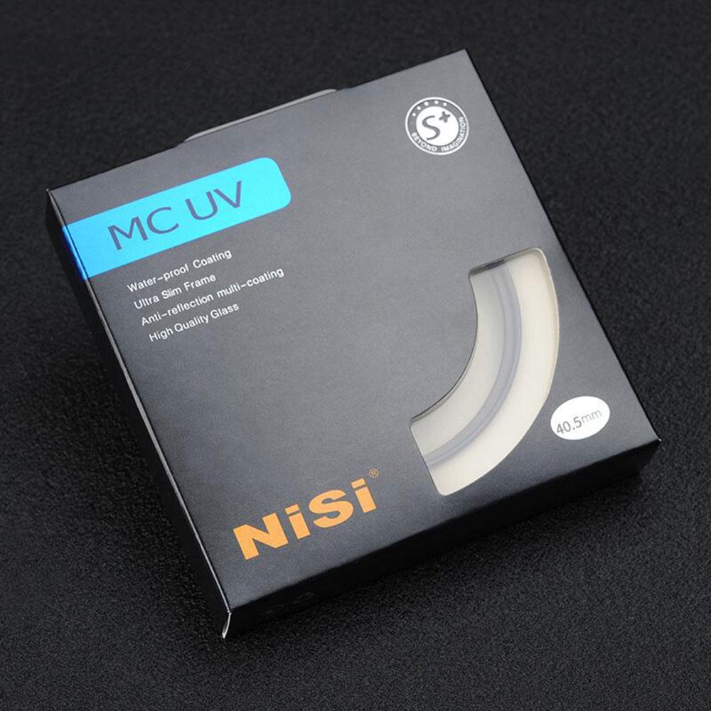 Nisi filtro de mc uv profissional 37/39/40.5/46/49/52/55/ 58/62/67/72/77/filtros de lentes ultra finos, 82/95/105mm