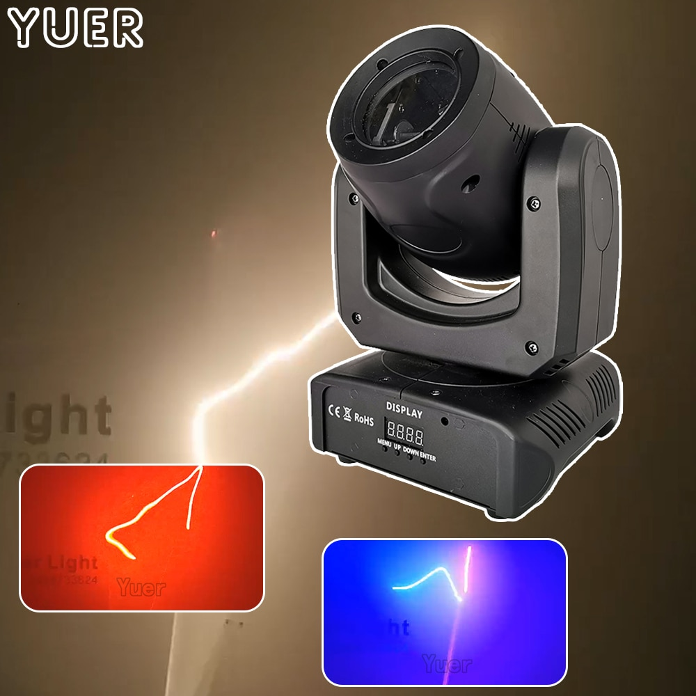 Beam Laser Strobe 3IN1 Stage Light RGB 1.5W Laser Moving Head Gobo Light DMX512 For Christmas DJ Bar Club Party Show Stage Light