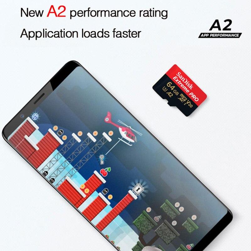 SanDisk Extreme PRO microsd 64GB UHS-I Memory Card 128GB micro SD Card 64GB TF Card 170MB/s Class10 U3 V30 A2 Memory Card TF
