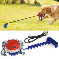 outdoor dog tug toy chew toy interactive tug of war game for aggressive chewers dog training teething indestructible rope