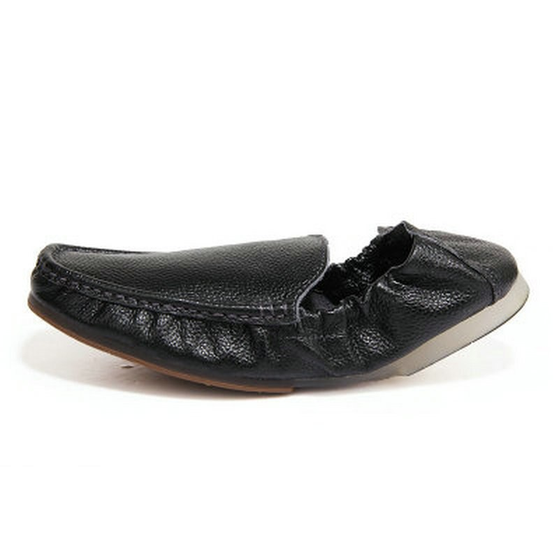 Men's peas shoes, men's soft-faced egg roll shoes, casual shoes, lazy shoes, British beef tendon soft-soled driving shoes