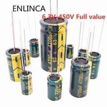 Condensatore elettrolitico ad alta frequenza 16V 25V 35V 50V 63V 100V 200V 400V 20% 100UF 220UF 330UF 470UF 680UF 1000UF 2200UF 3300UF