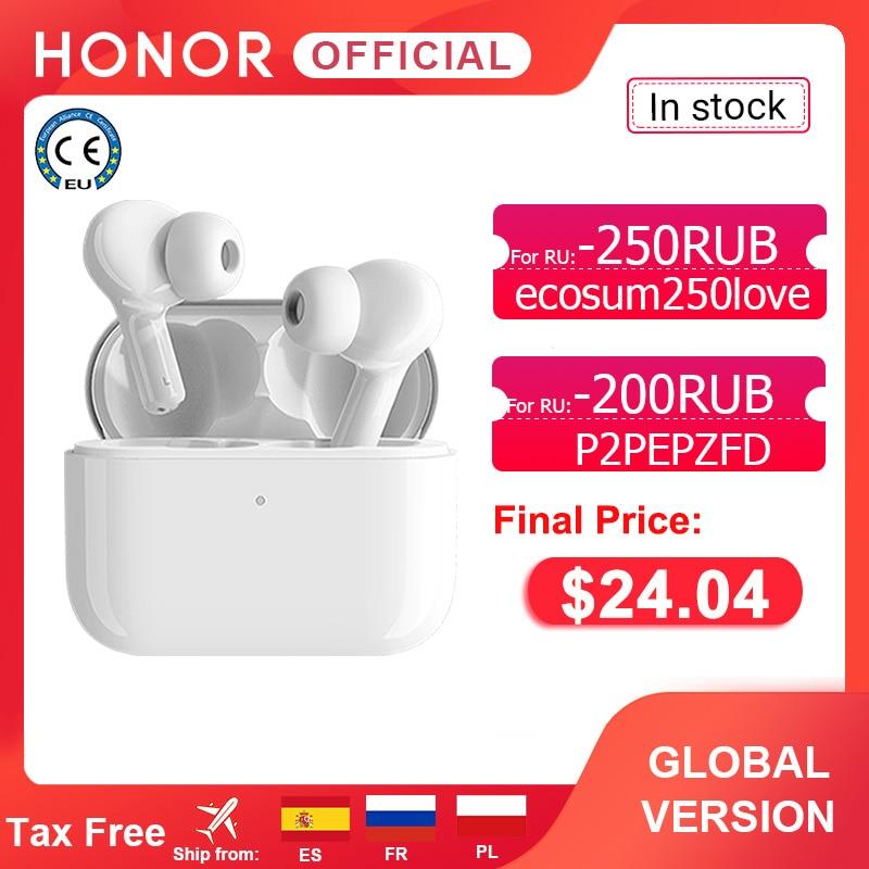 Global Version Honor Choice True Wireless Earbuds TWS Wireless Bluetooth Earphone Dual-microphone No