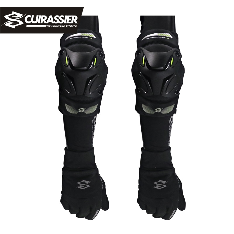 Cuirassier Motorcycle Knee Pads Men Protective Gear Knee Gurad Kneepad Protector Rodiller Equipment Gear Motocross Racing Moto enlarge