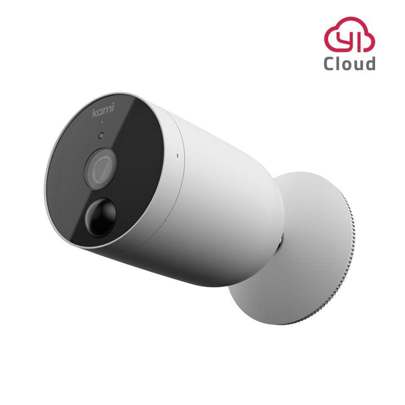 YI Kami cámara de seguridad 1080P libre de cables FHD Wifi con batería recargable alimentado IP cámara inalámbrica vigilancia del hogar