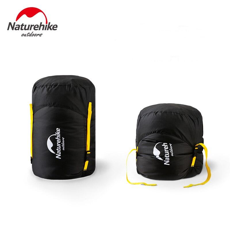 Naturehike Paquete de Camping al aire libre bolsa tipo saco de viaje comprimible bolsa de transporte de almacenamiento impermeable para dormir