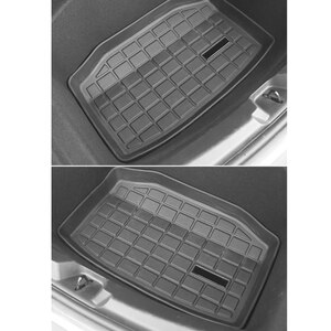 Black Trunk Before and Cargo Durable Mat for Tesla Model 3 TPE Modification Pad Car Accessories