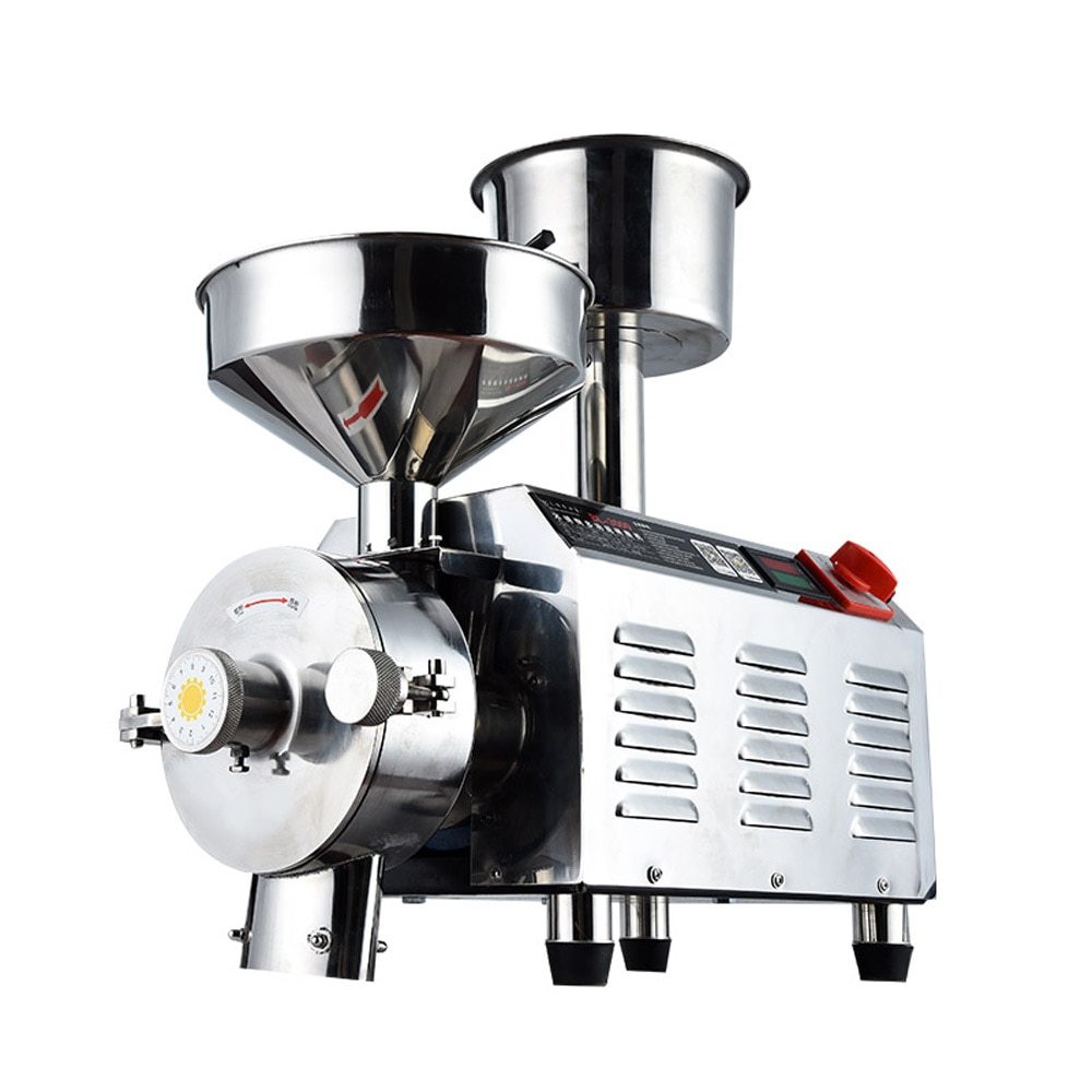 Soy milk refiner Wet and dry can use Rice Milk Sesame Peanut Butter High-power mill 3000W