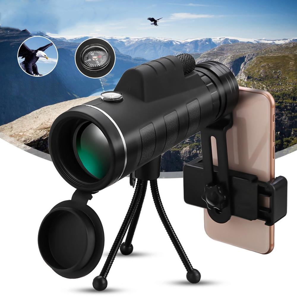 40X зум телескоп объектив для телефона телефон Монокуляр мобильные линзы для iPhone Samsung Redmi 7 Huawei сотовый телефон lentes