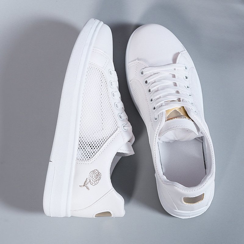 2021 Tennis Shoes for Women Light Mesh Gold Silver Sneakers Gym Woman Sport Trainers Tenis Feminino Basket Femme Plus Size 35-41  - buy with discount