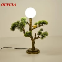 bright table lamp desk resin modern contemporary office creative decoration bed led lamp for foyer living room bed room