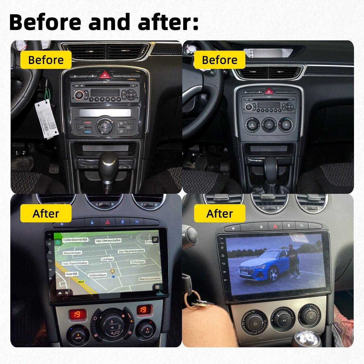 Для Peugeot 308 308SW 408 RCZ 2010-2016 2.5D 9-дюймовый экран Android автомобильное Стерео Gps радио Автомобильный мультимедийный видеоплеер