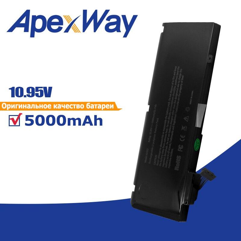 Apexway 5000mAh A1322 بطارية كمبيوتر محمول ل أبل ماك بوك برو 13